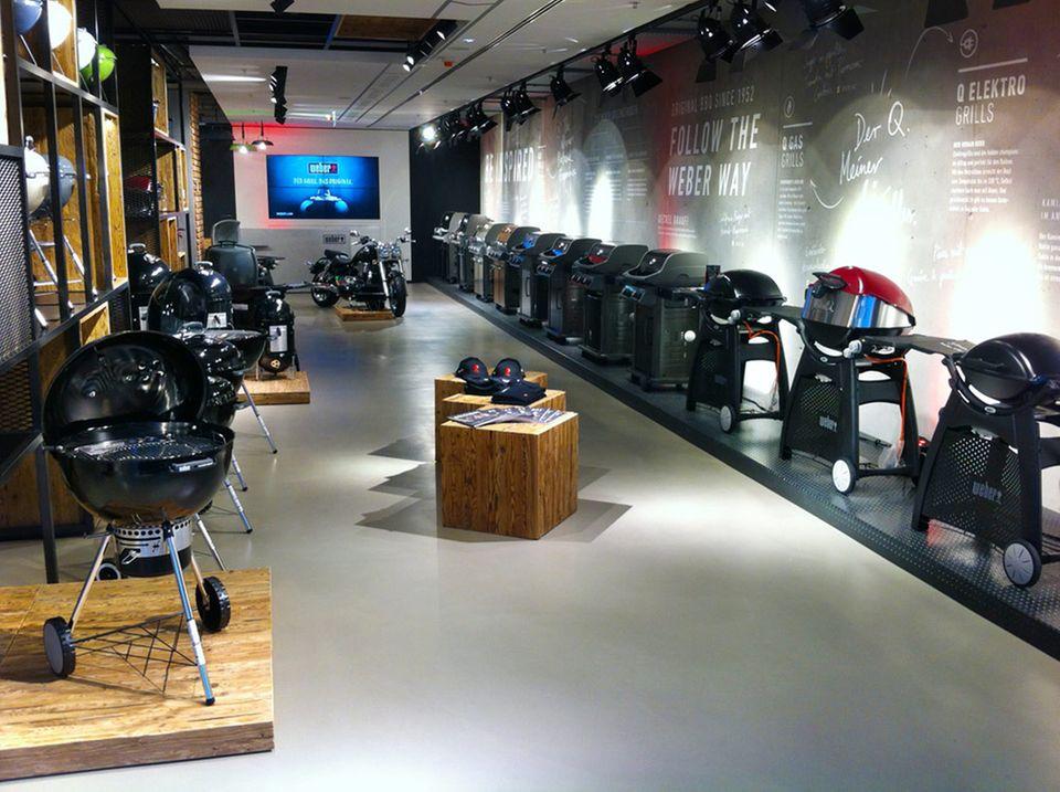 Weber Original Store in Berlin