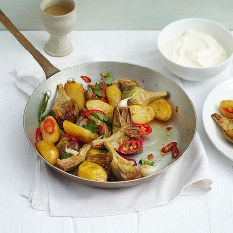 Junges Gemüse: Rezepte mit Artischocken