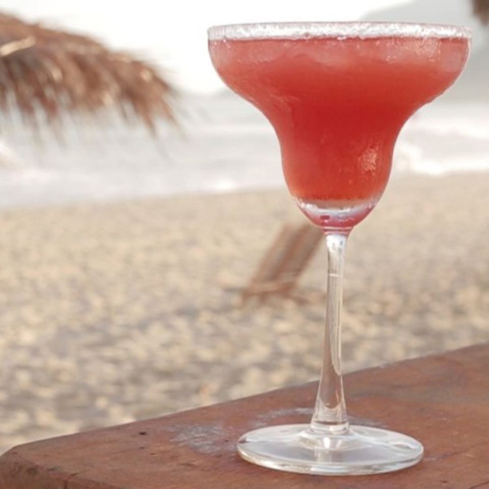 Cocktail Erdbeer-Margarita
