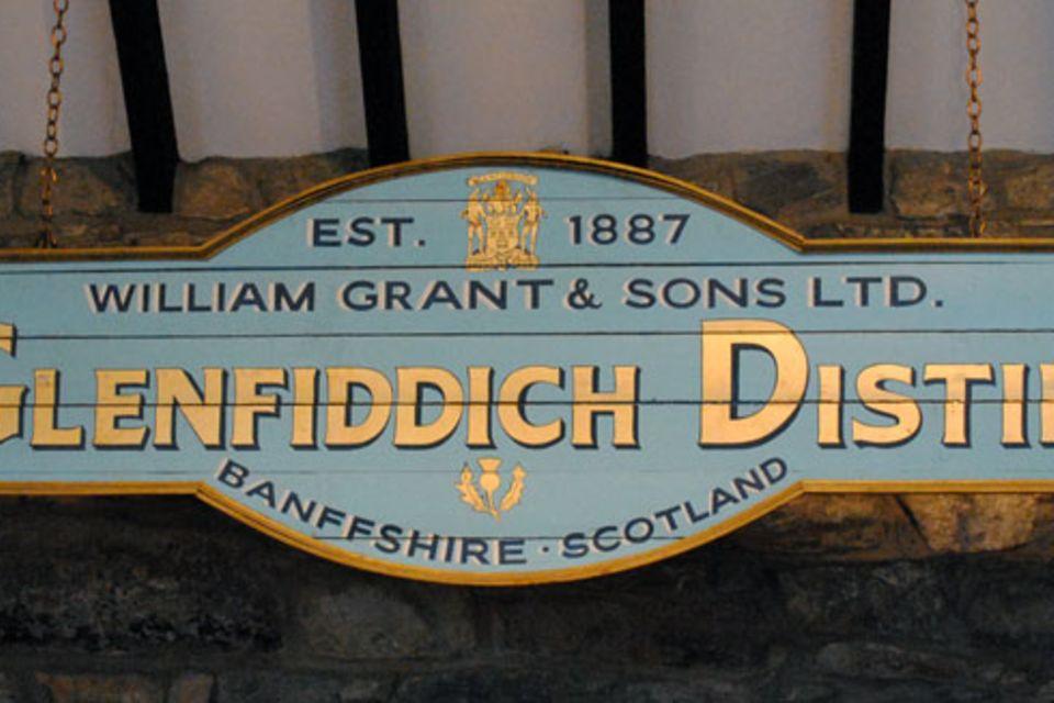 Zu Besuch bei Glenfiddich