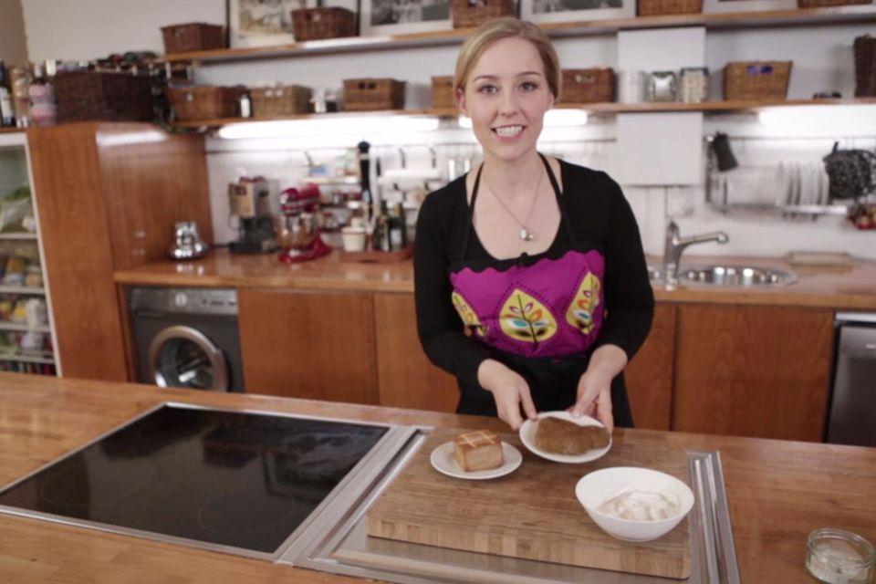 """Vegane Mayonnaise und """"Wurstsalat"""" von Nicole Just"""