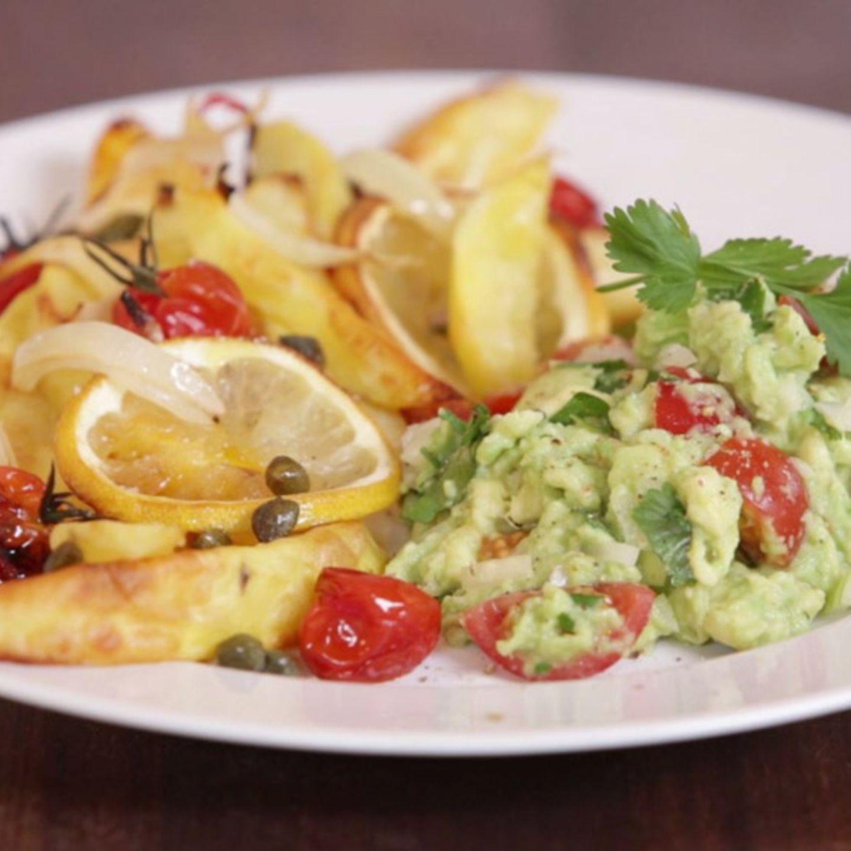 Zitronenkartoffeln mit Guacamole von Nicole Just
