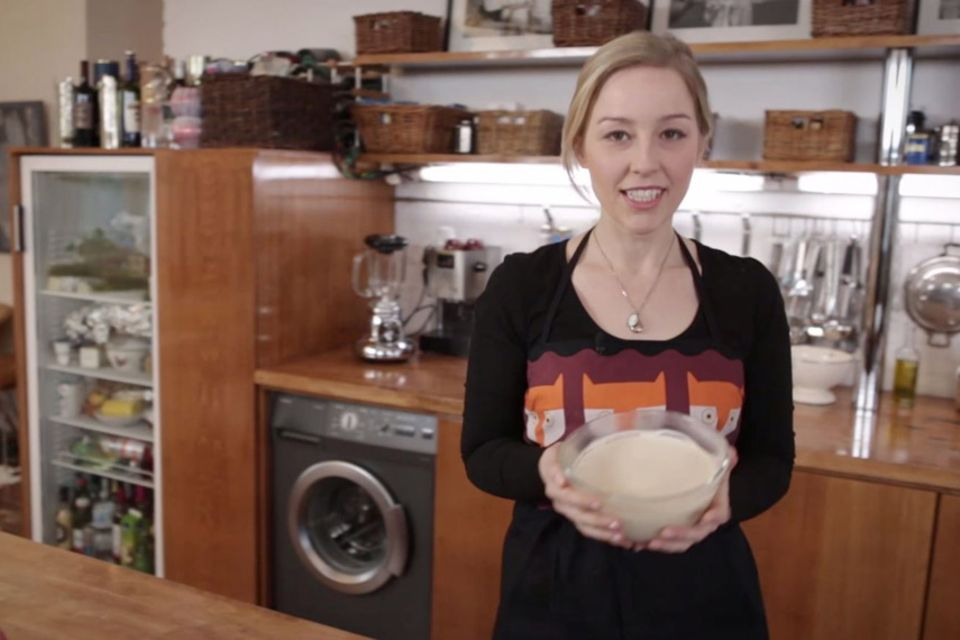 Vegane weiße Mousse au Chocolat von Nicole Just