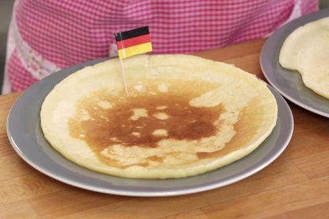Crêpe, Pfannkuchen und Pancakes von Rike Dittloff