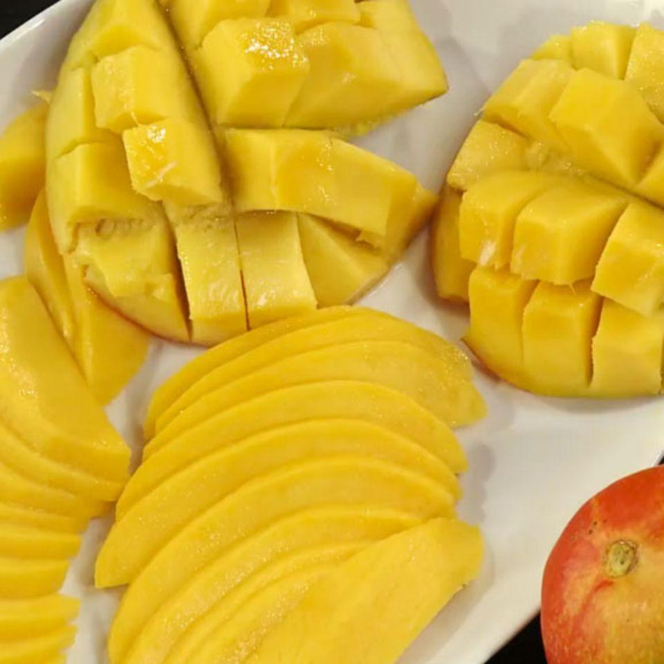 Schnitttechniken für Mango.