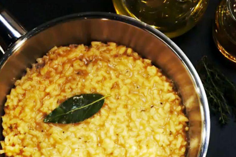 Risotto kochen: So geht's