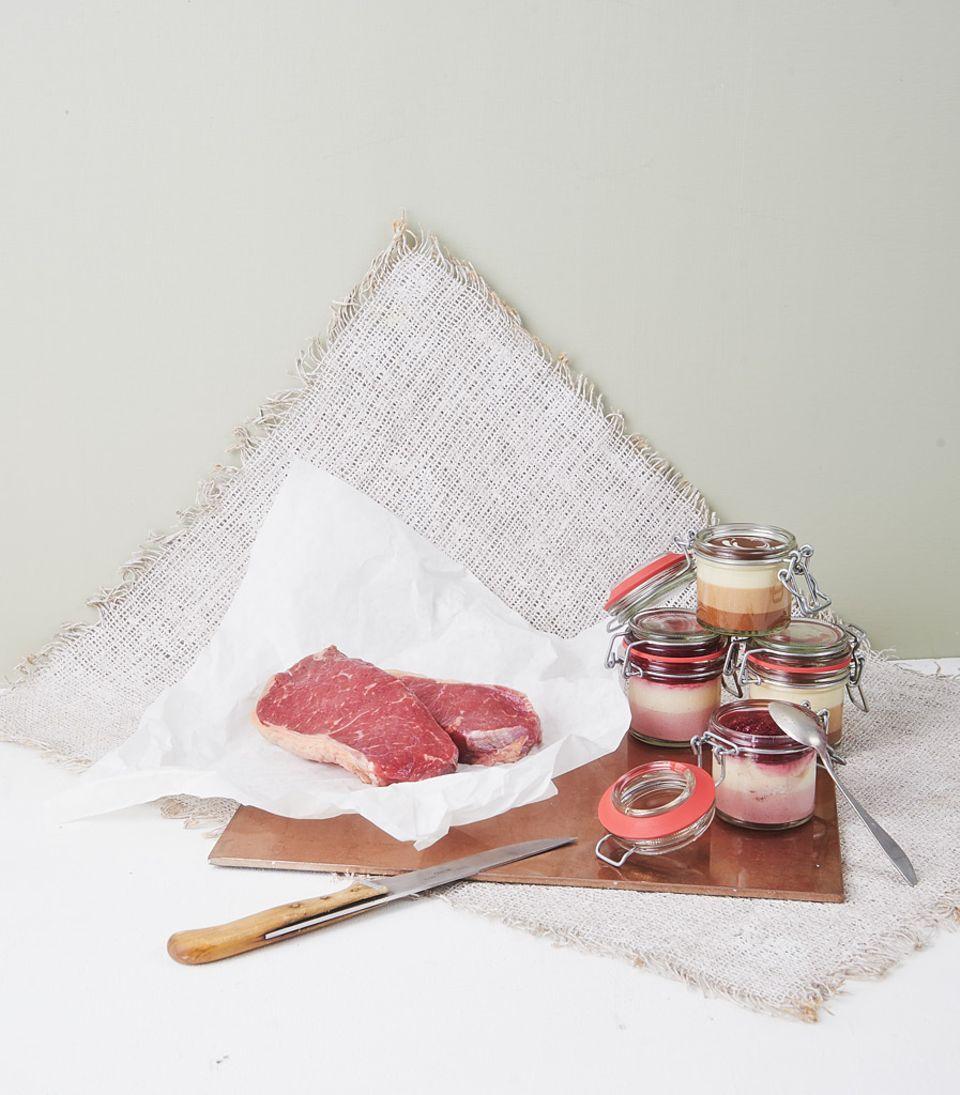 """Genuss-Paket 3 """"Beste Steaks"""" von gourmetfleisch.de"""