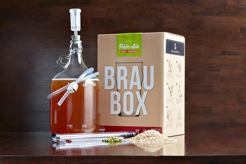 Einfach zu hause Bier brauen: Mit der Braubox