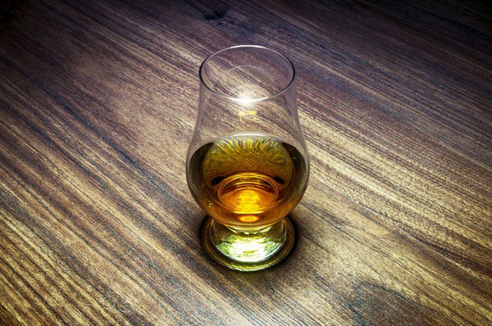 Für die Nase: Das richtige Tastingglas hilft feine Nuancen des Whiskys wahrzunehmen