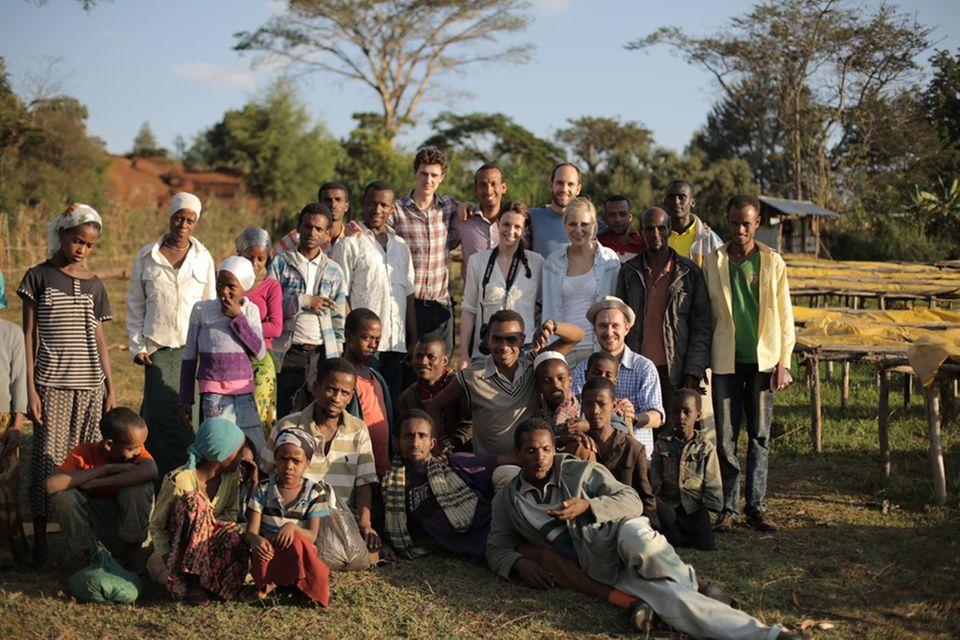 Coffee Circle besucht regelmäßig Kaffeebauern in Kooperativen in Äthiopien