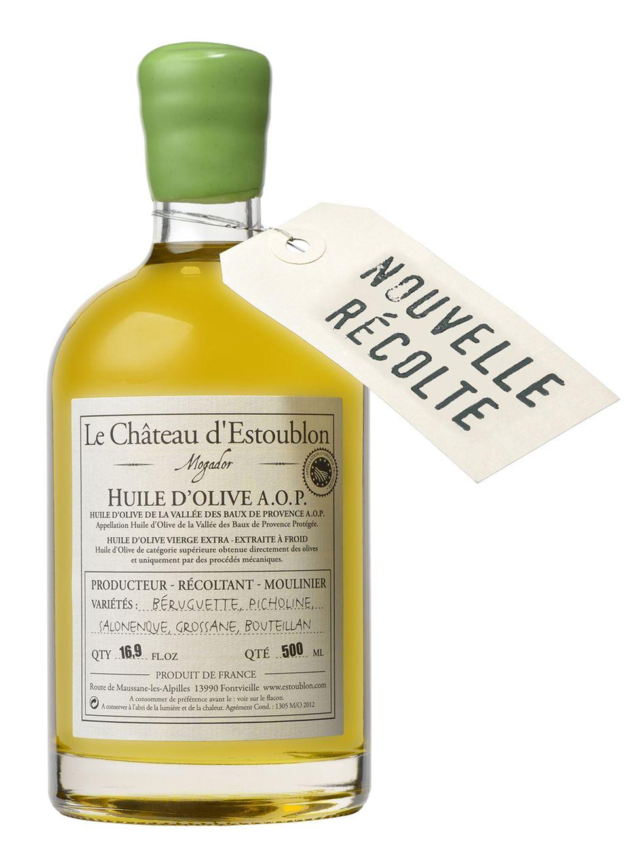 Neues Olivenöl aus der Ernte 2014 vom Château d'Estoublon