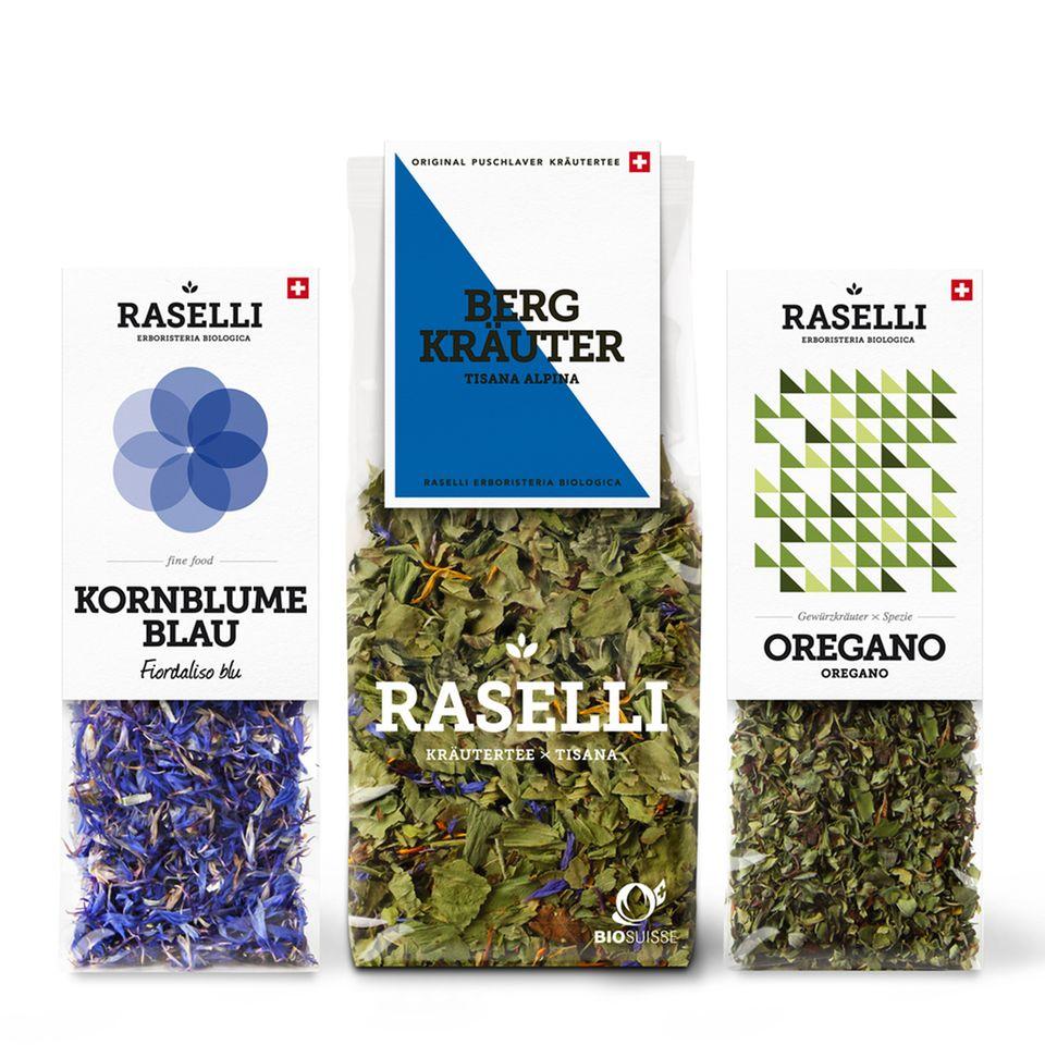 Bergkräuter von Raselli Schweiz