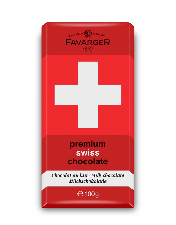 Schweizer Schokolade von Favarger