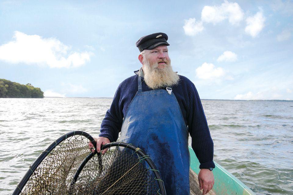 Die Fischer der Müritzfischer Fischmanufaktur verkaufen ihren Fang online