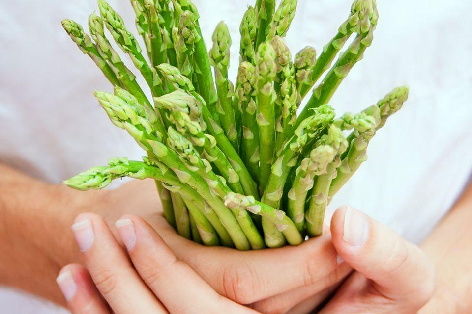 Grüner Spargel: Rezepte & Zubereitung