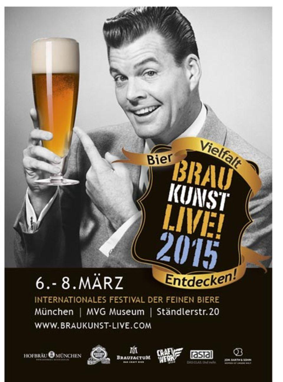 Die Welt der Biere in München: Braukunst live!
