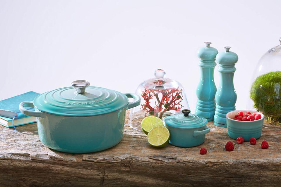 Leichtigkeit und farbenfrohes Design bei Le Creuset