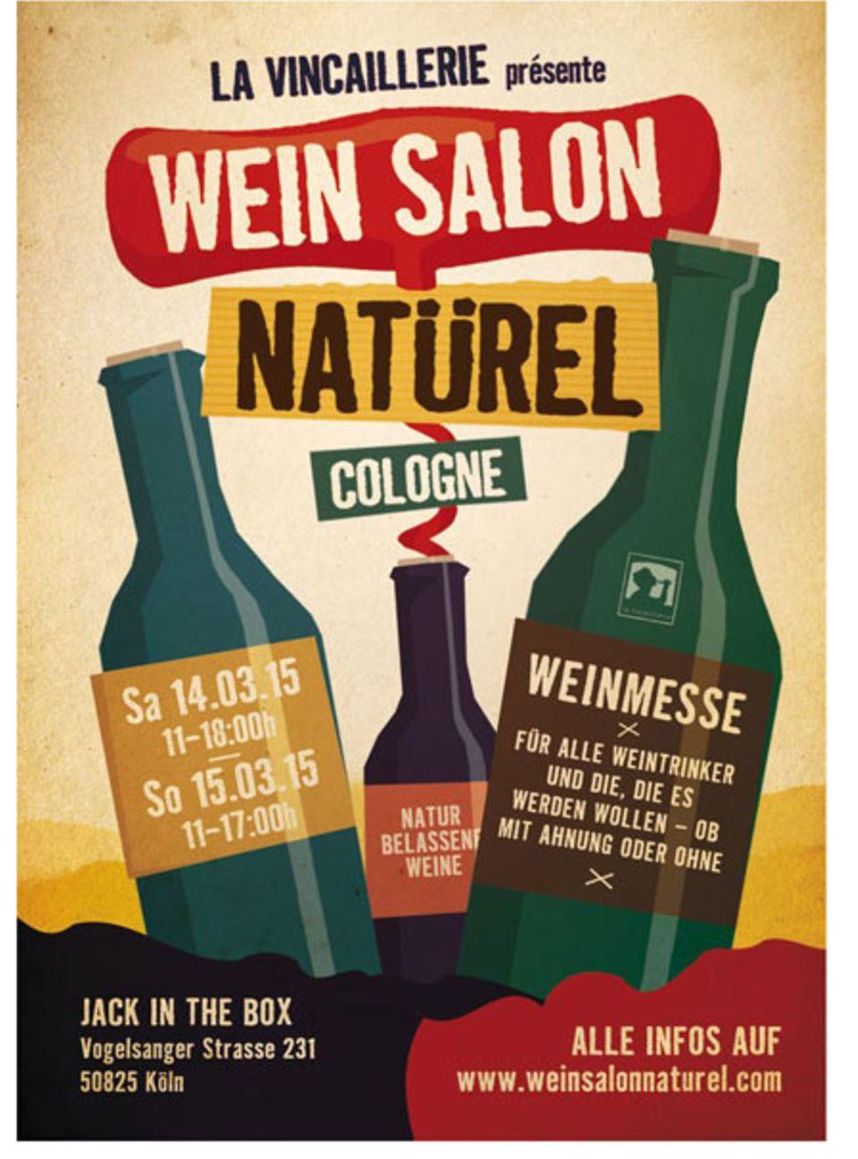 Wine Salon Natürel: unbehandelte Weine entdecken