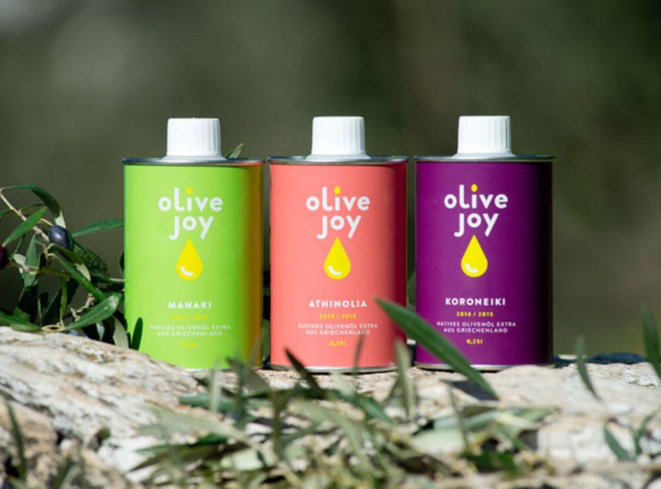 Fruchtig, mild und kräftig: sortenreines Olivenöl aus Griechenland