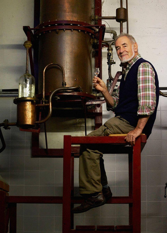Carlo Gobetti brennt mit verfeinerter Technik nach Ururgroßvaters Rezepturen