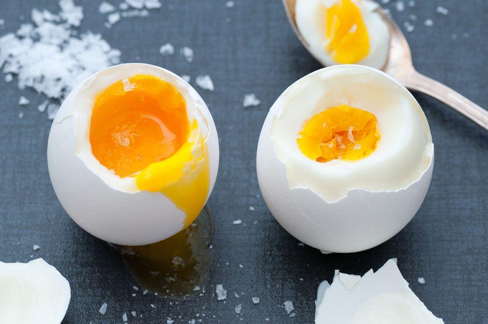 Eier in allen Varianten sind das perfekte Low Carb Frühstück