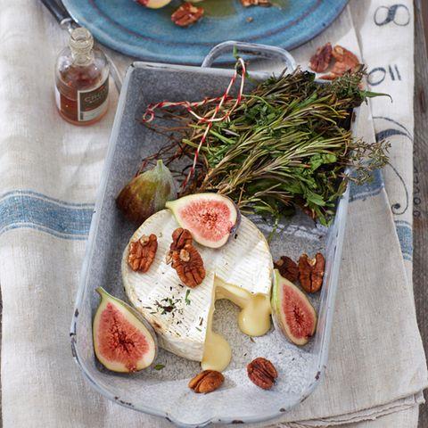 Gelungene Verbindung: Käse und Obst