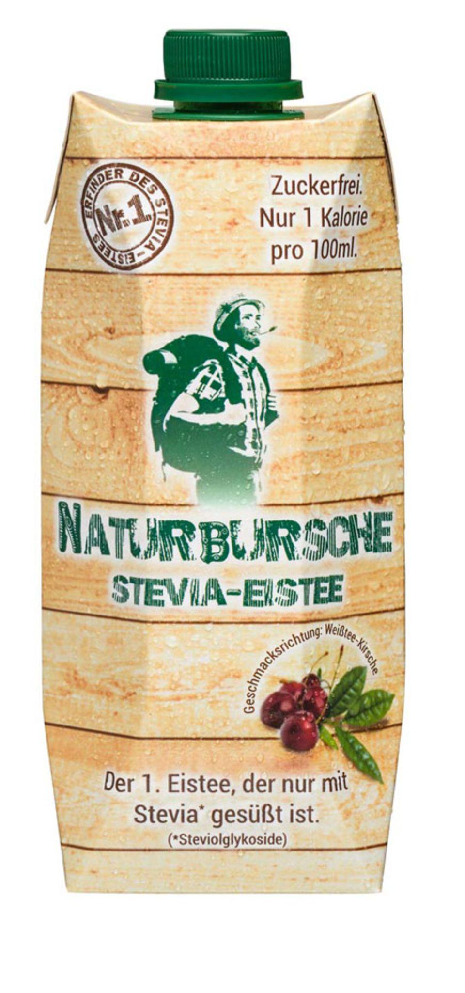 Nur mit Stevia gesüßt: der Eistee von Naturbursche