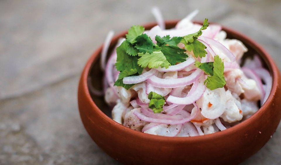 Macht Lust auf mehr: Ceviche aus Peru