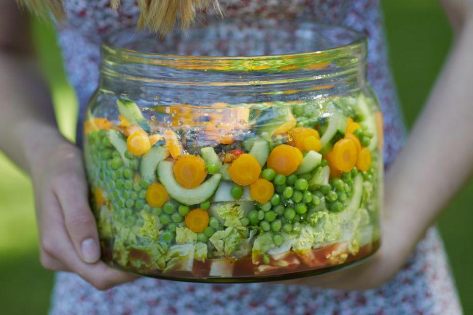 Salate zum Mitnehmen