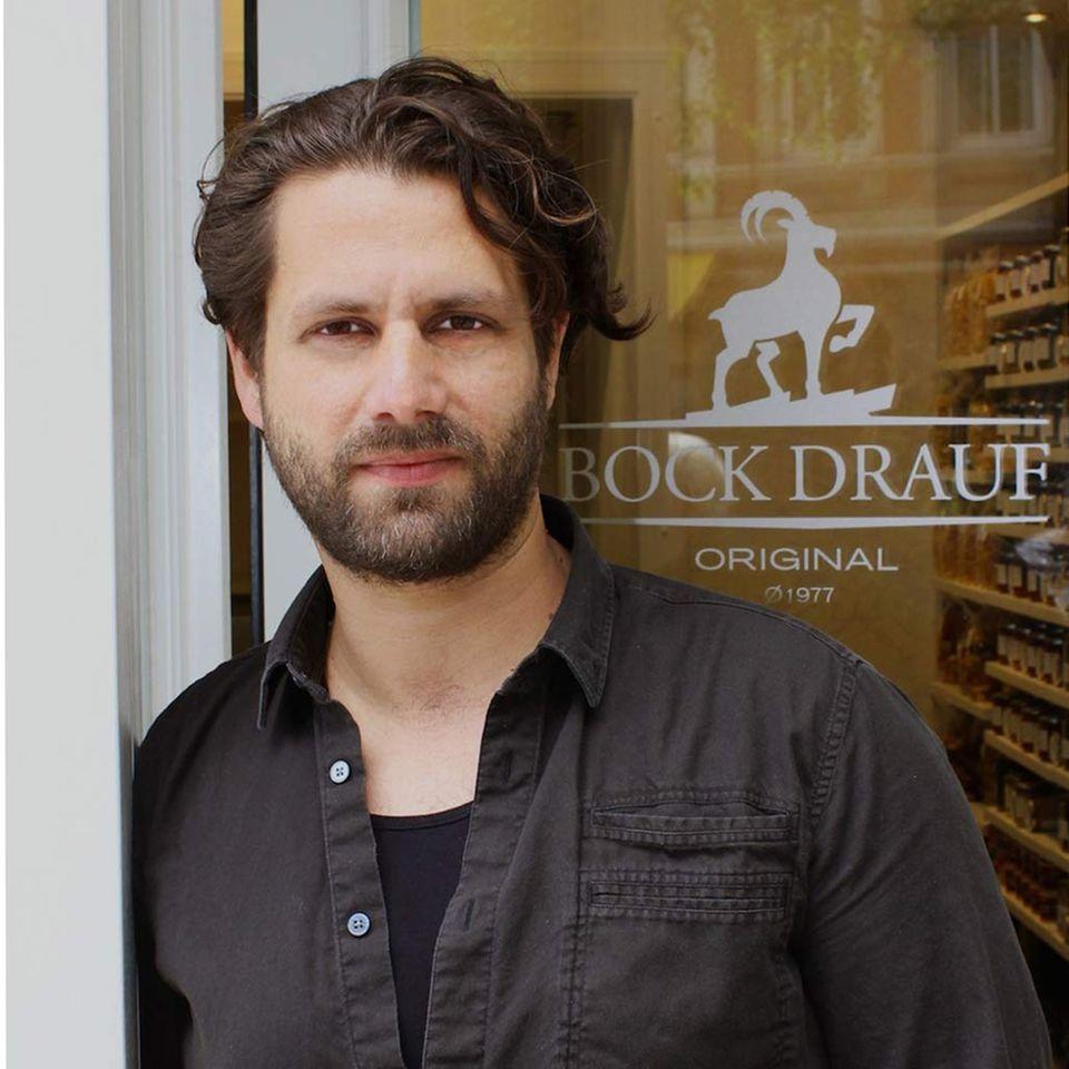 """Adam Bousdoukos neues Projekt: Der Feinkostladen """"Bock drauf"""" in der Hamburger Schanze"""