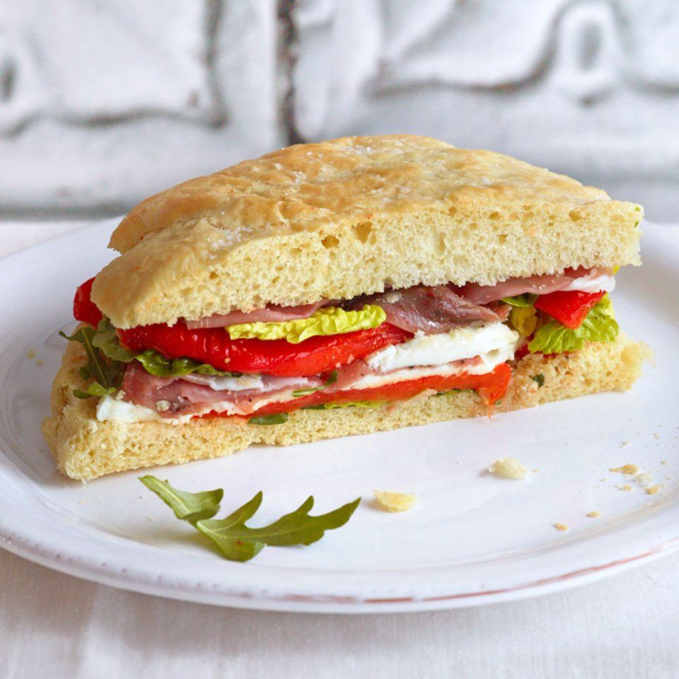 Kalte italienische Küche