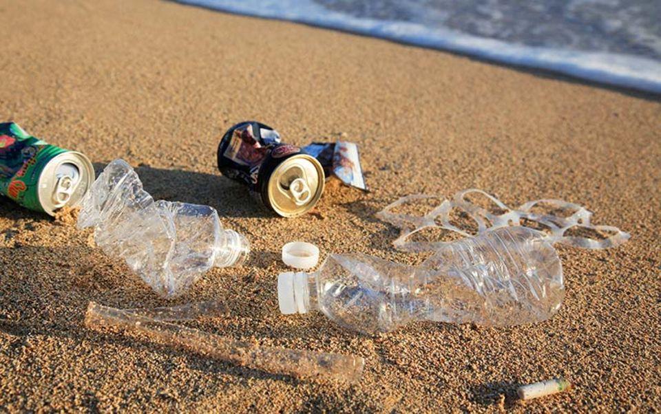 Keine Seltenheit: Müll am Strand