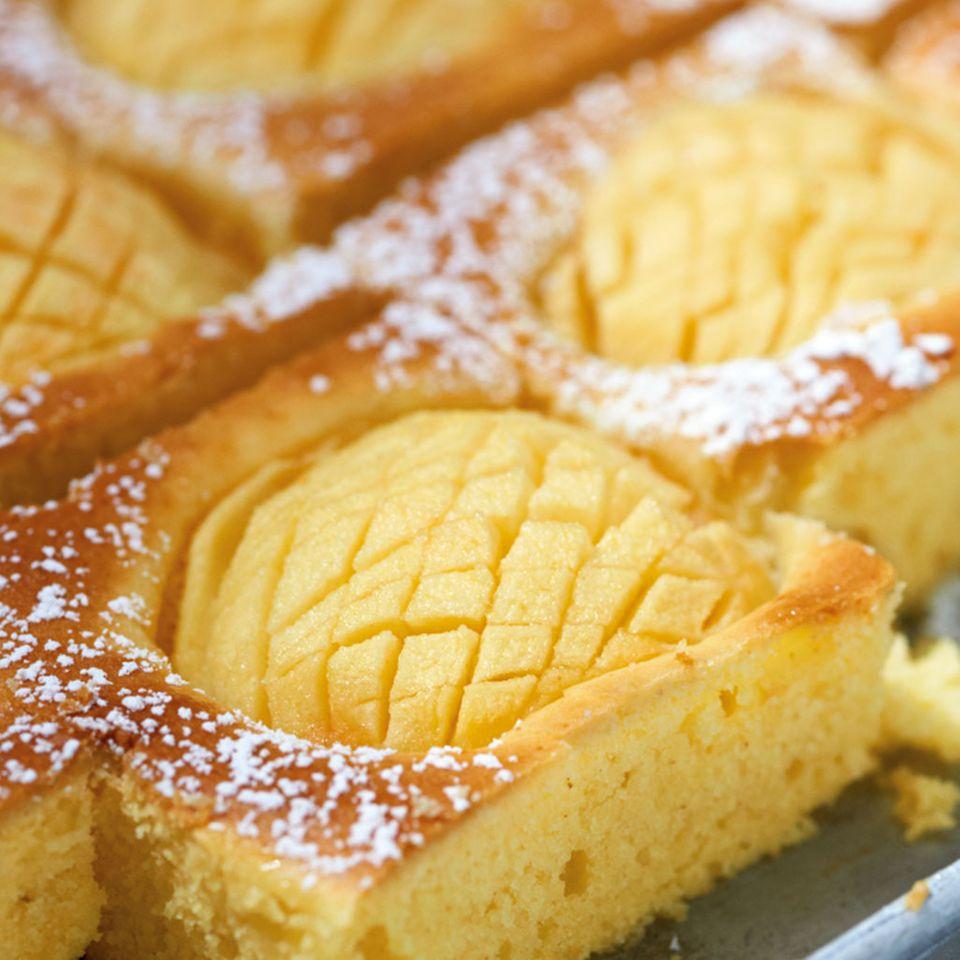 Schnelle Kuchen mit Apfel