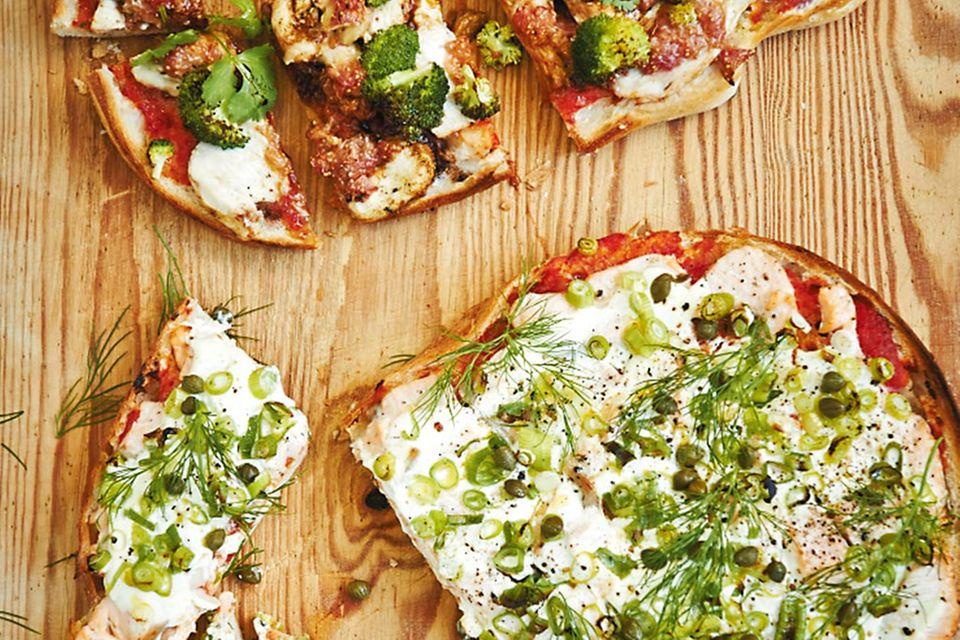 10 pikante Pizzen