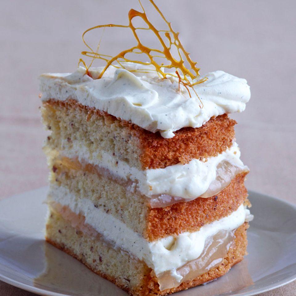 Birne: Kuchen und Torten