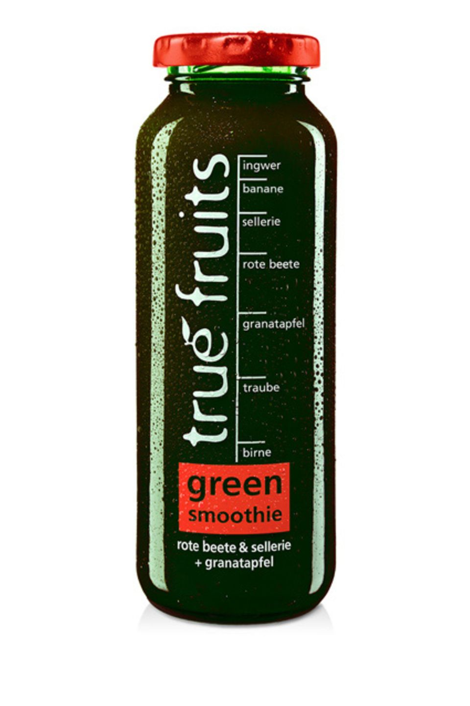 Der neue Green Smoothie no. 3 von true fruits