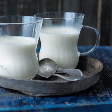 Warme Getränke mit Milch