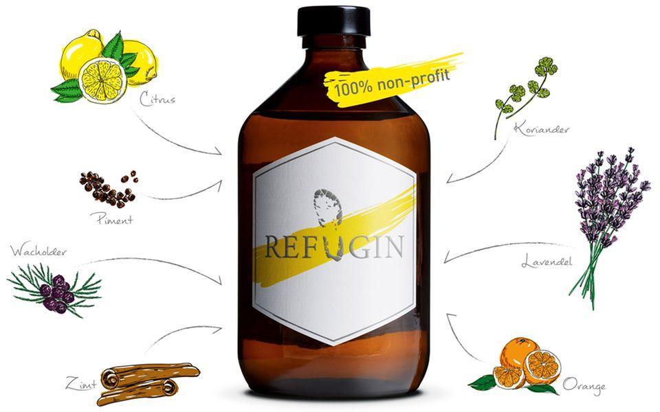 Refugee + Gin = Refugin