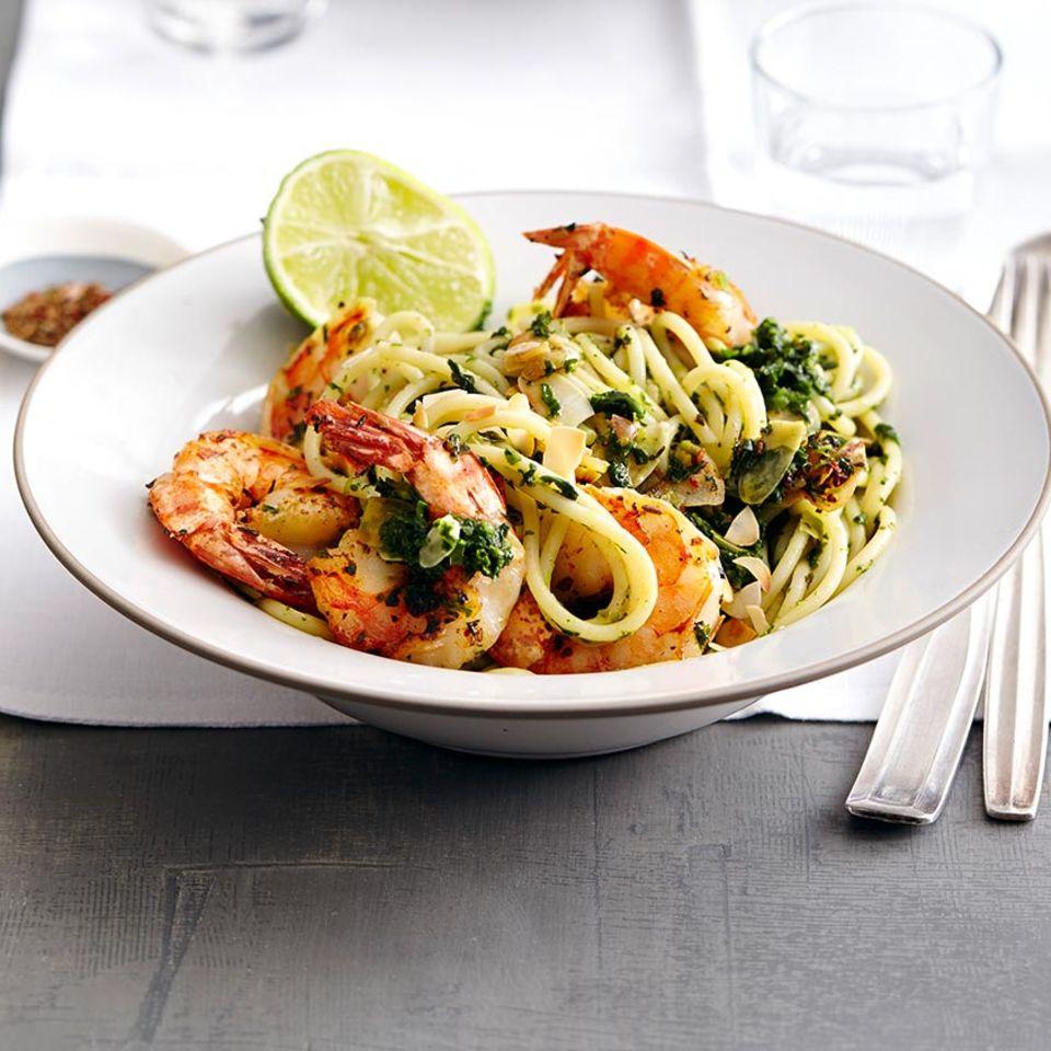 Rezepte: Meeresfrüchte mit Pasta