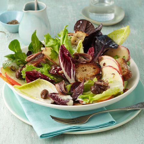 Gesunde und leichte Wintersalate