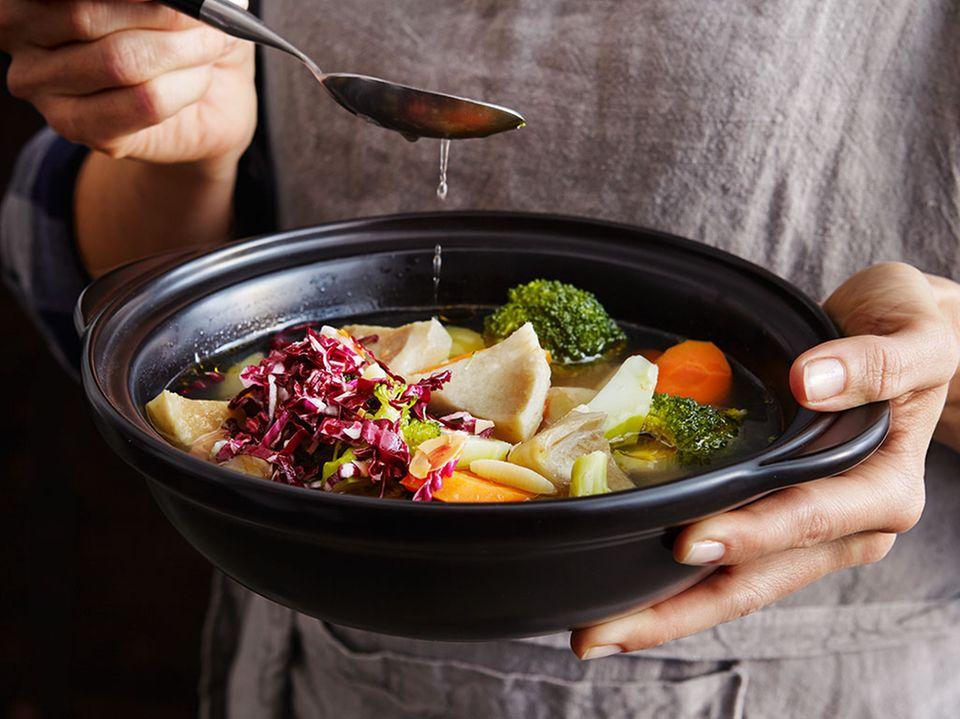 Suppen und Eintöpfe wärmen wunderbar