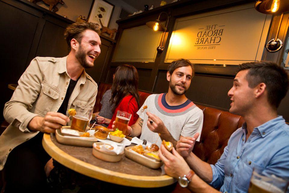 """""""Broad Chare Pub"""", ein gemütlicher Pub in Newcastle"""