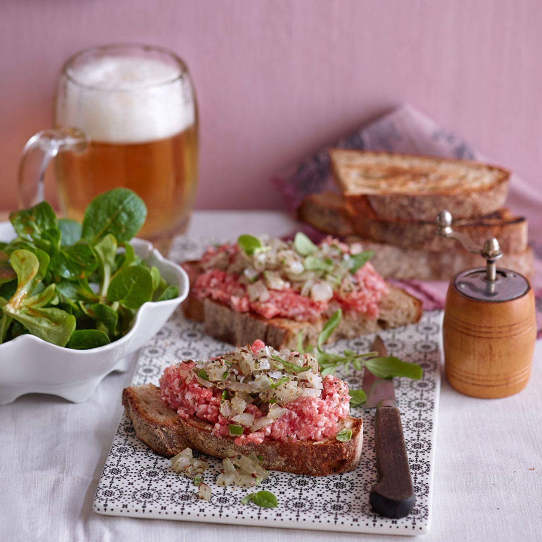 Fleisch mit Majoran