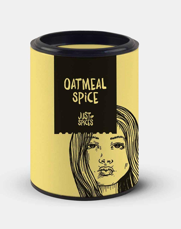 Das Oatmeal Spice bringt mit Gewürzen wie Zimt und Vanille tolle Aromen ins Frühstück
