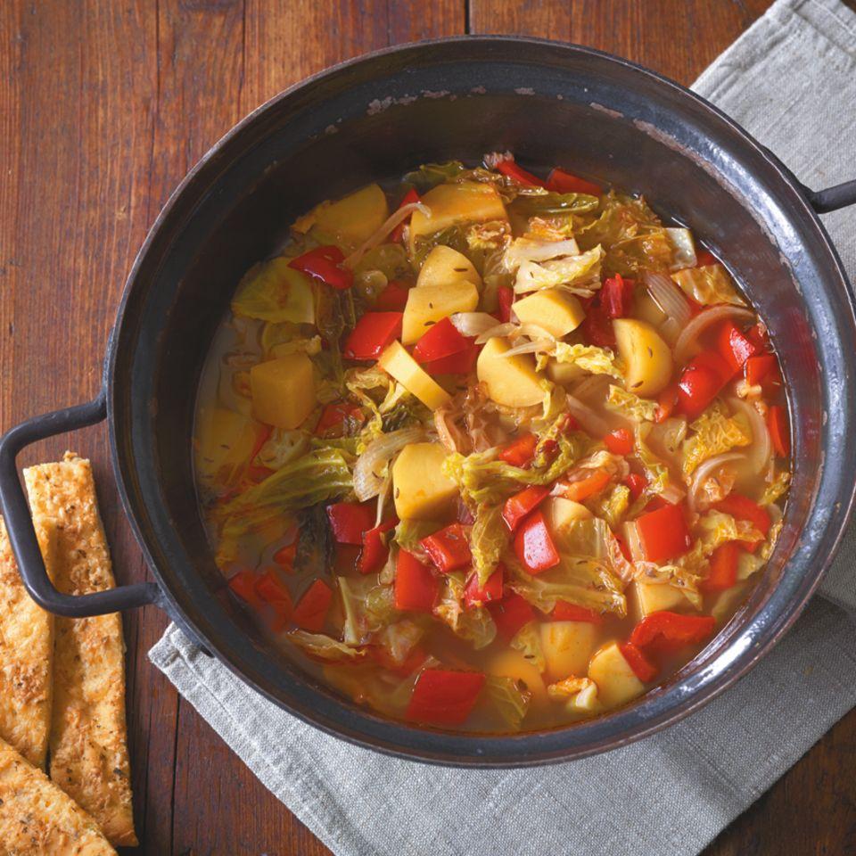 Suppen & Eintöpfe mit Wirsing