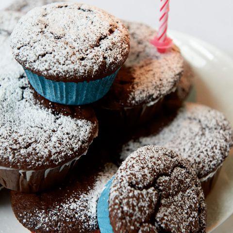 Rezepte: Muffins mit Schokolade