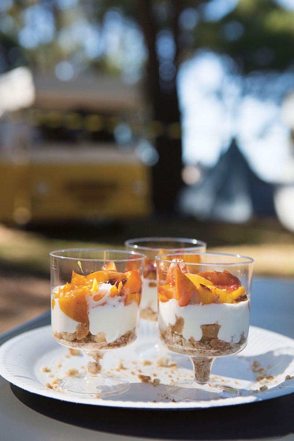 Rezept aus Open Air: Falscher Pfirsichkuchen
