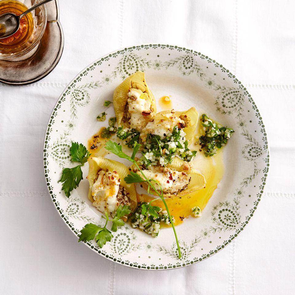 Pasta-Rezepte mit Muschelnudeln