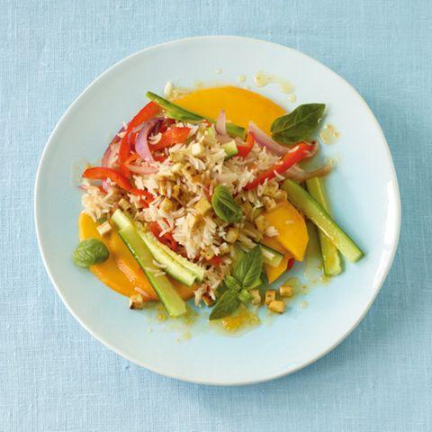 Leichte Gerichte mit Reis