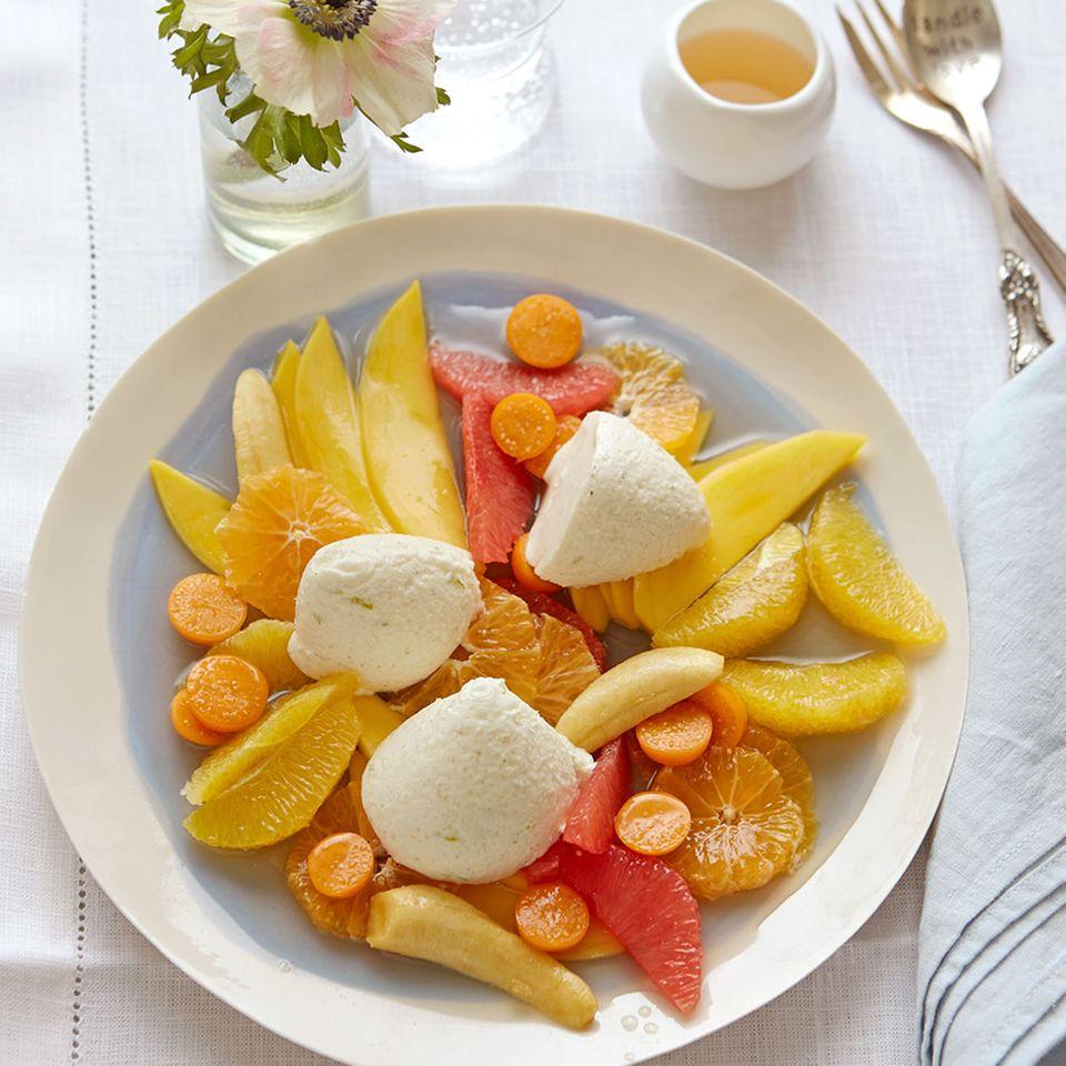 Zitrusfrüchte: Desserts und Kuchen
